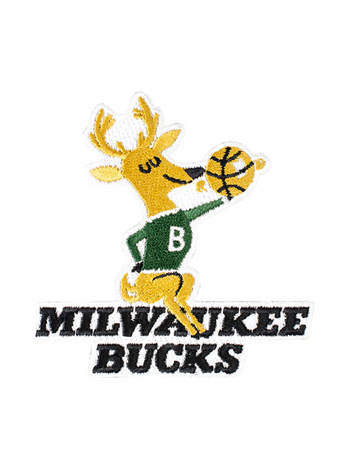 Emblem Source Hardwood Classic Milwaukee Bucks Patch
