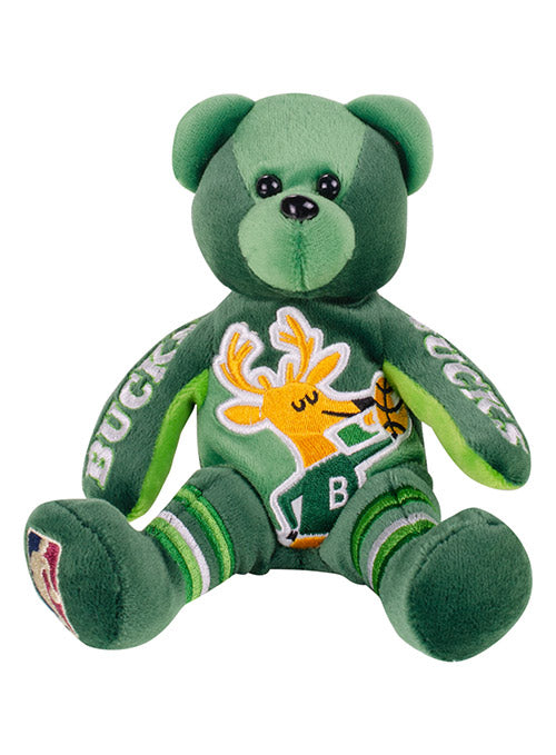 FOCO Hardwood Classics Milwaukee Bucks Plush Bear