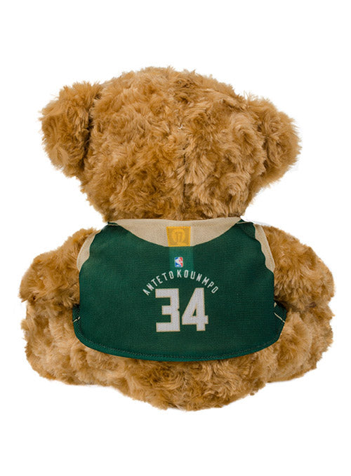 FOCO Giannis Antetokounmpo Icon Jersey Milwaukee Bucks Plush Bear