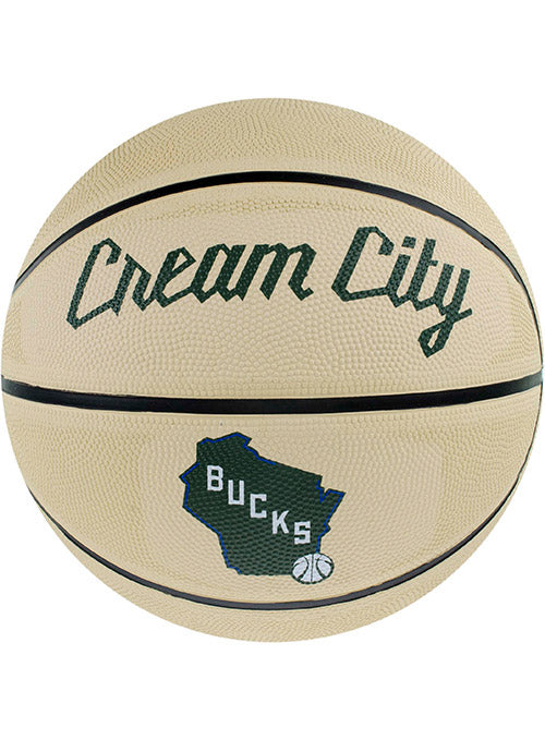Spalding City Edition Milwaukee Bucks Full Size Basketball
