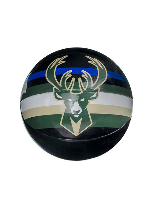 Spalding Underglass Statement Milwaukee Bucks Mini Basketball