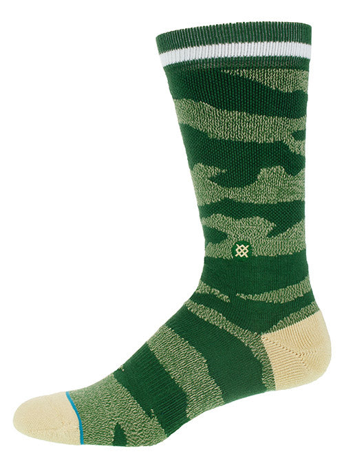 Stance Camo Melange Milwaukee Bucks Crew Sock