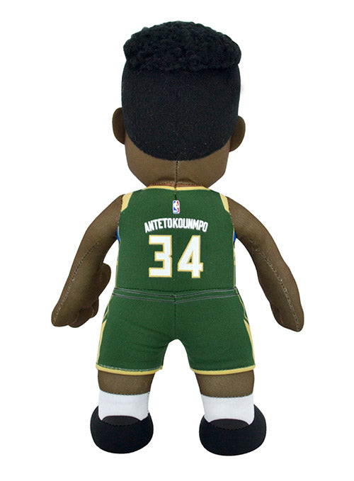 Bleacher Creatures Giannis Antetokounmpo Icon Milwaukee Bucks Plush Doll