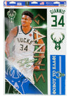 Wincraft Greek Groove Giannis Antetokounmpo Milwaukee Bucks Decal Sheet