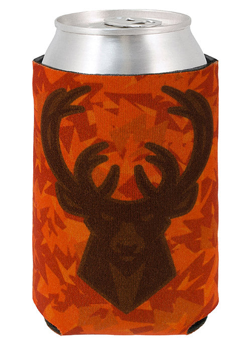 Wincraft Orange Camo M Icon Milwaukee Bucks Koozie