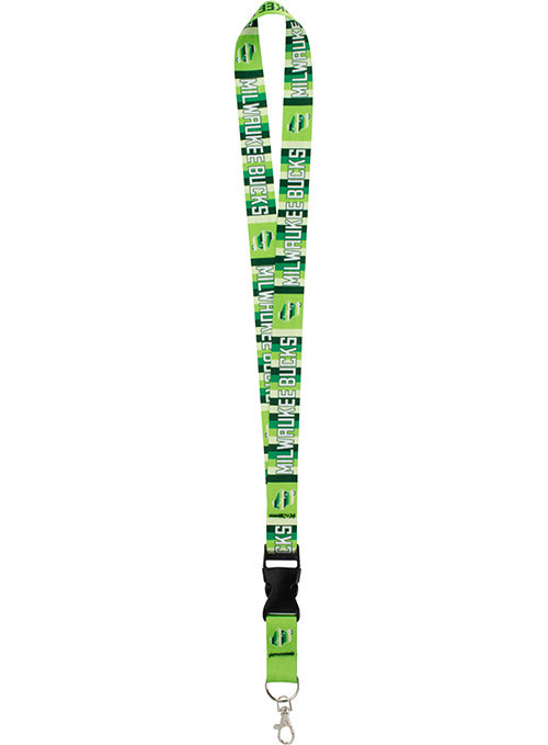 Wincraft Irish Rainbow State Milwaukee Bucks Lanyard