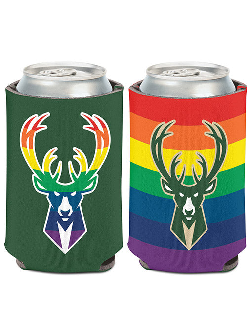 Wincraft Pride Milwaukee Bucks Koozie