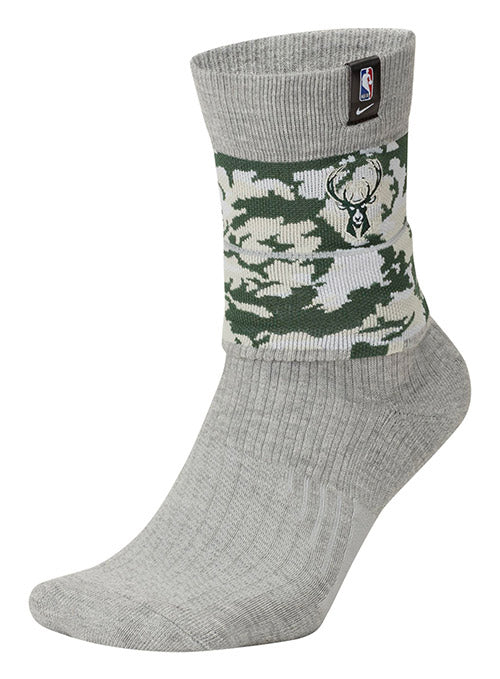 Nike Courtside Milwaukee Bucks Crew Sock