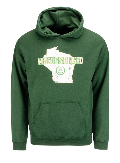 Item of the Game Home Court Wisconsin Herd Hooded Sweatshirt