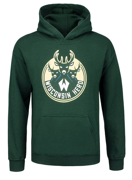 Youth IOTG Primary Wisconsin Herd Hoodie