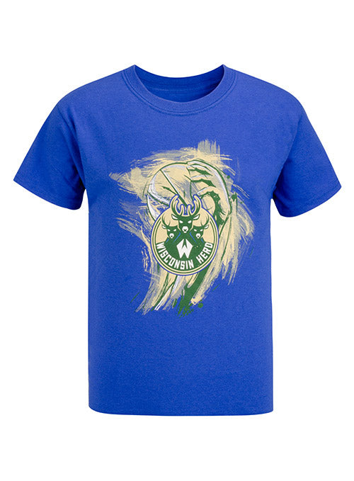 Youth Item of the Game Paint Wisconsin Herd T-Shirt