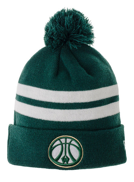 New Era 2 Tone Wisconsin Herd Knit Hat