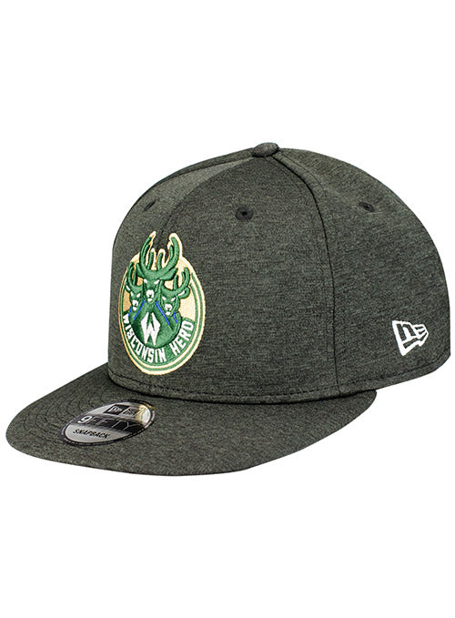 New Era Shadow Tech Wisconsin Herd Snapback Cap