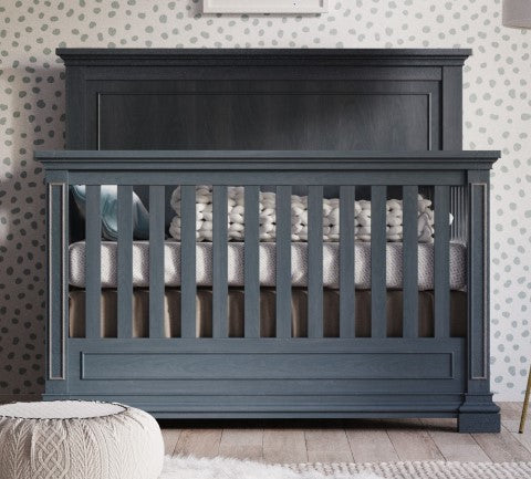 Jackson 4 in 1 Convertible Crib | 100% Solid Wood