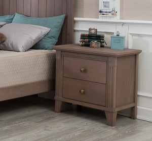 Edison Nightstand in Cappuccino