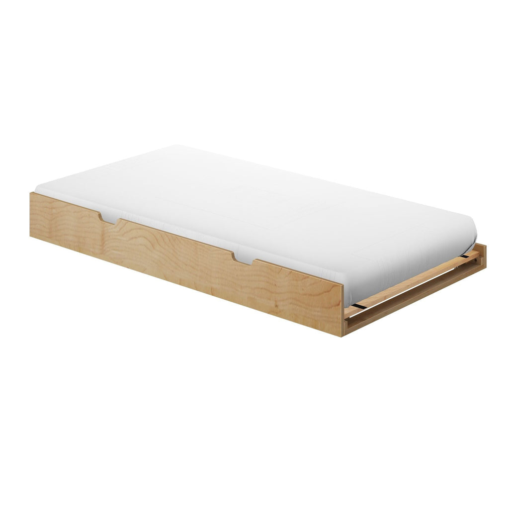 Max & Lily Kid's Twin Size Trundle Bed Component Natural
