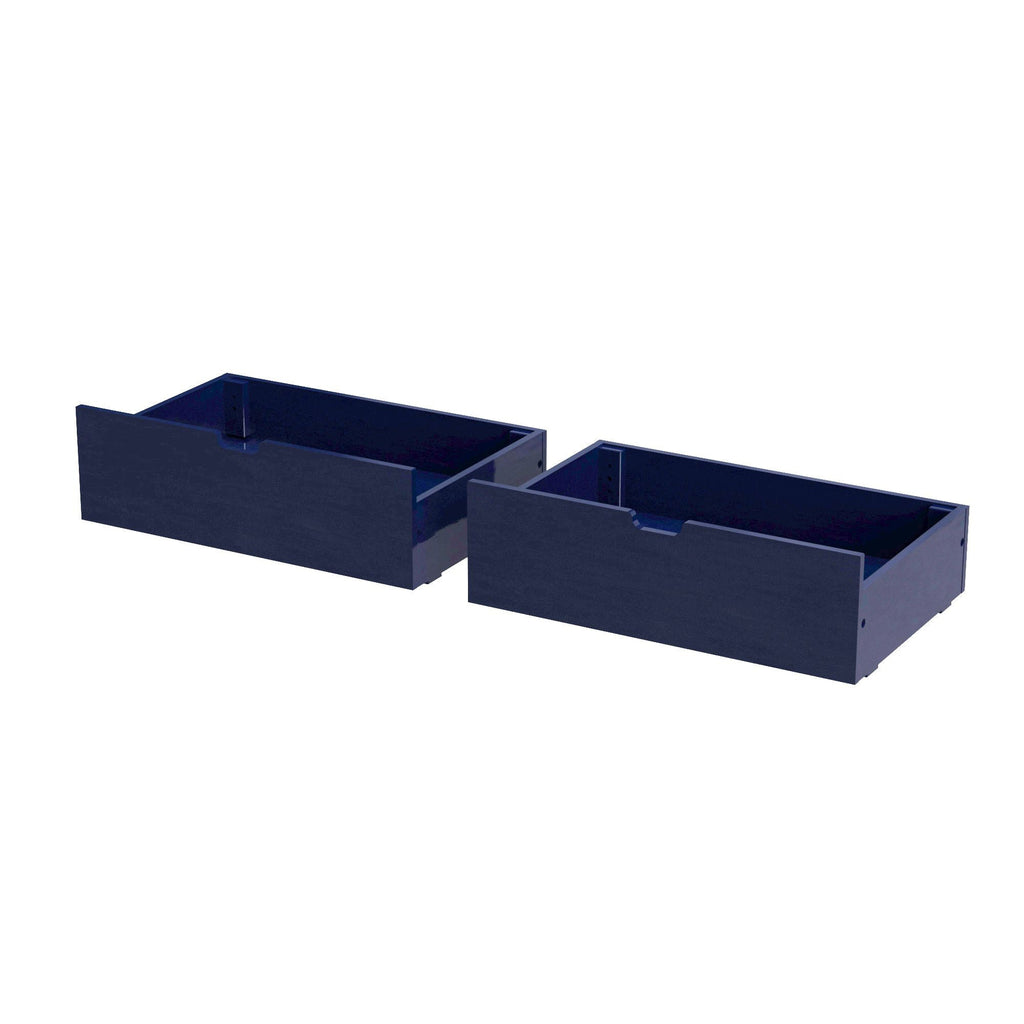 Max & Lily Under Bed Storage Drawers Component Blue
