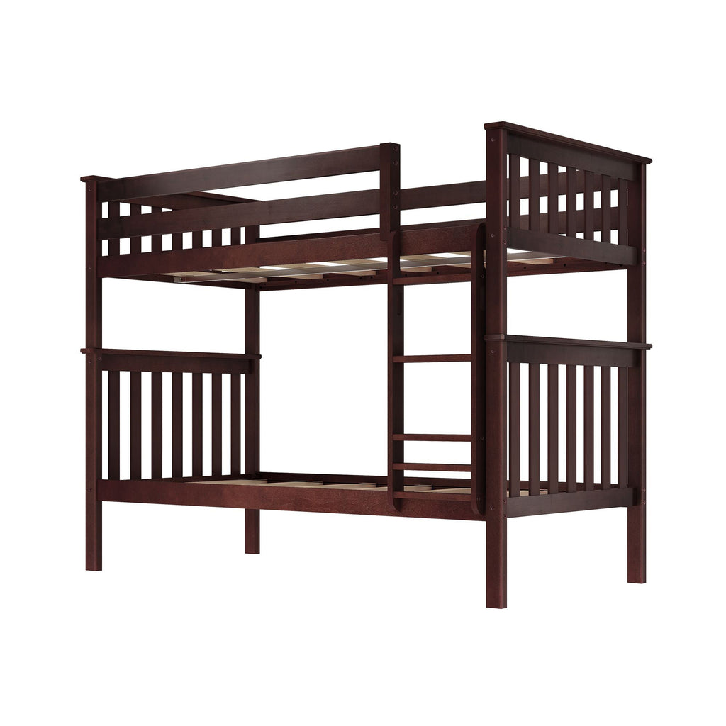 Max & Lily Kid's Twin Over Twin Size Bunk Bed Bunk Beds