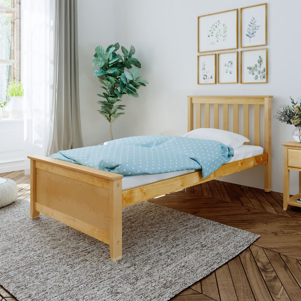 Max & Lily Kid's Twin Size Bed Kids Beds Natural