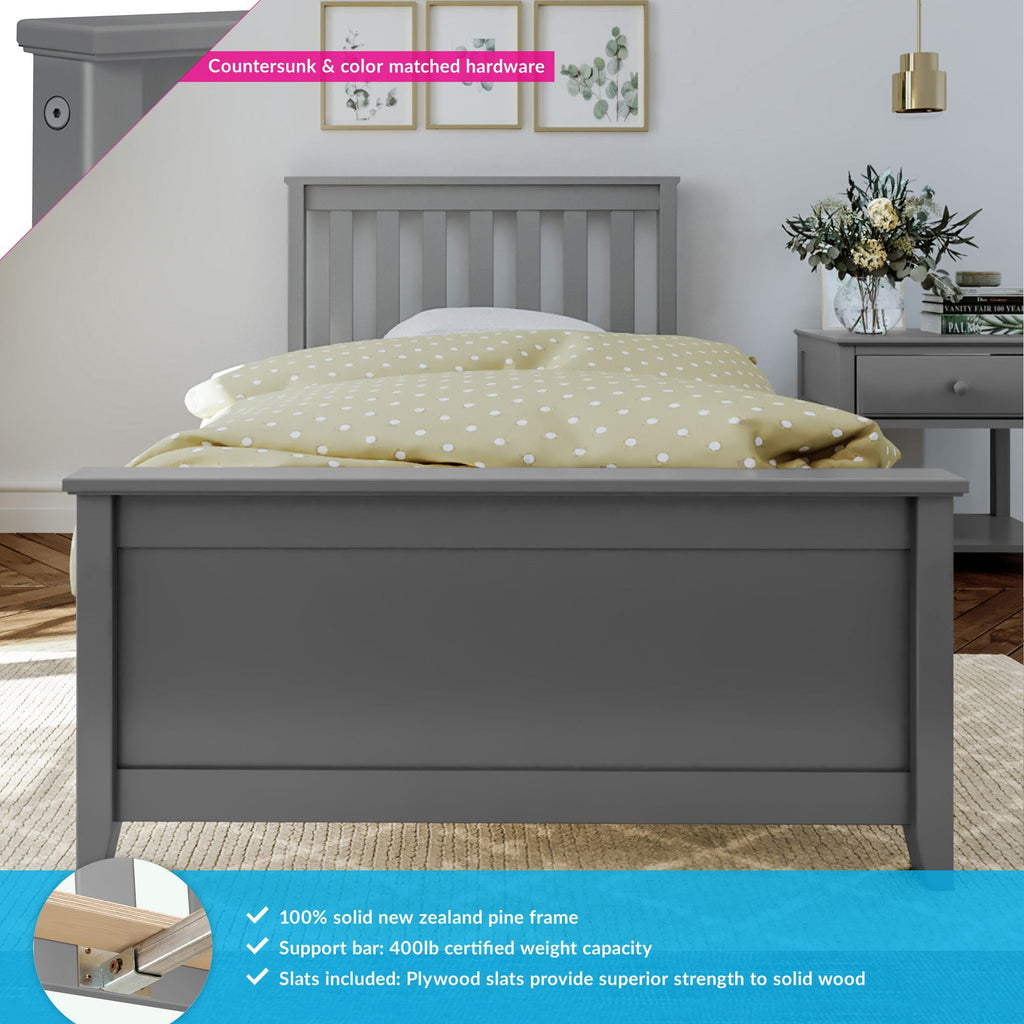 Max & Lily Kid's Twin Size Bed Kids Beds