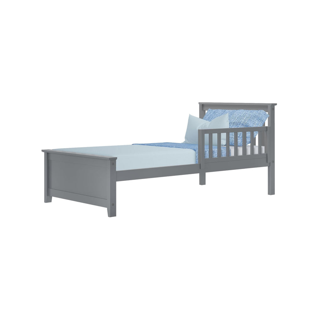 Max & Lily Twin Bed with Single Guard Rail Single Bed