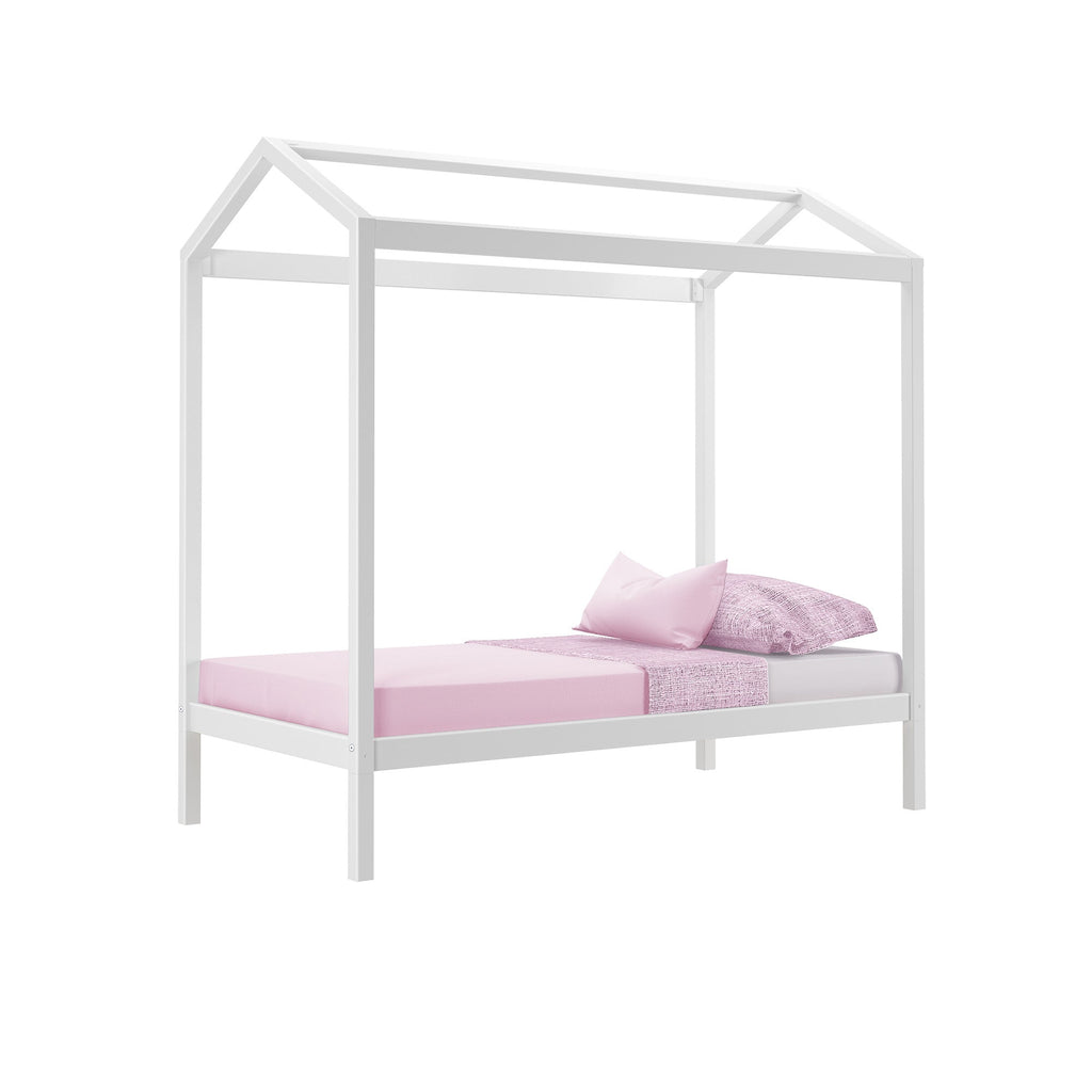 Max & Lily Kid's Twin Size House Bed Kids Beds