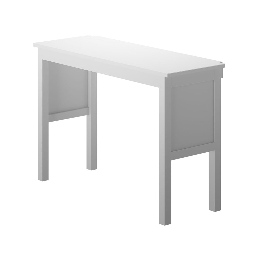 Max & Lily Desk For High Loft Bed Component White
