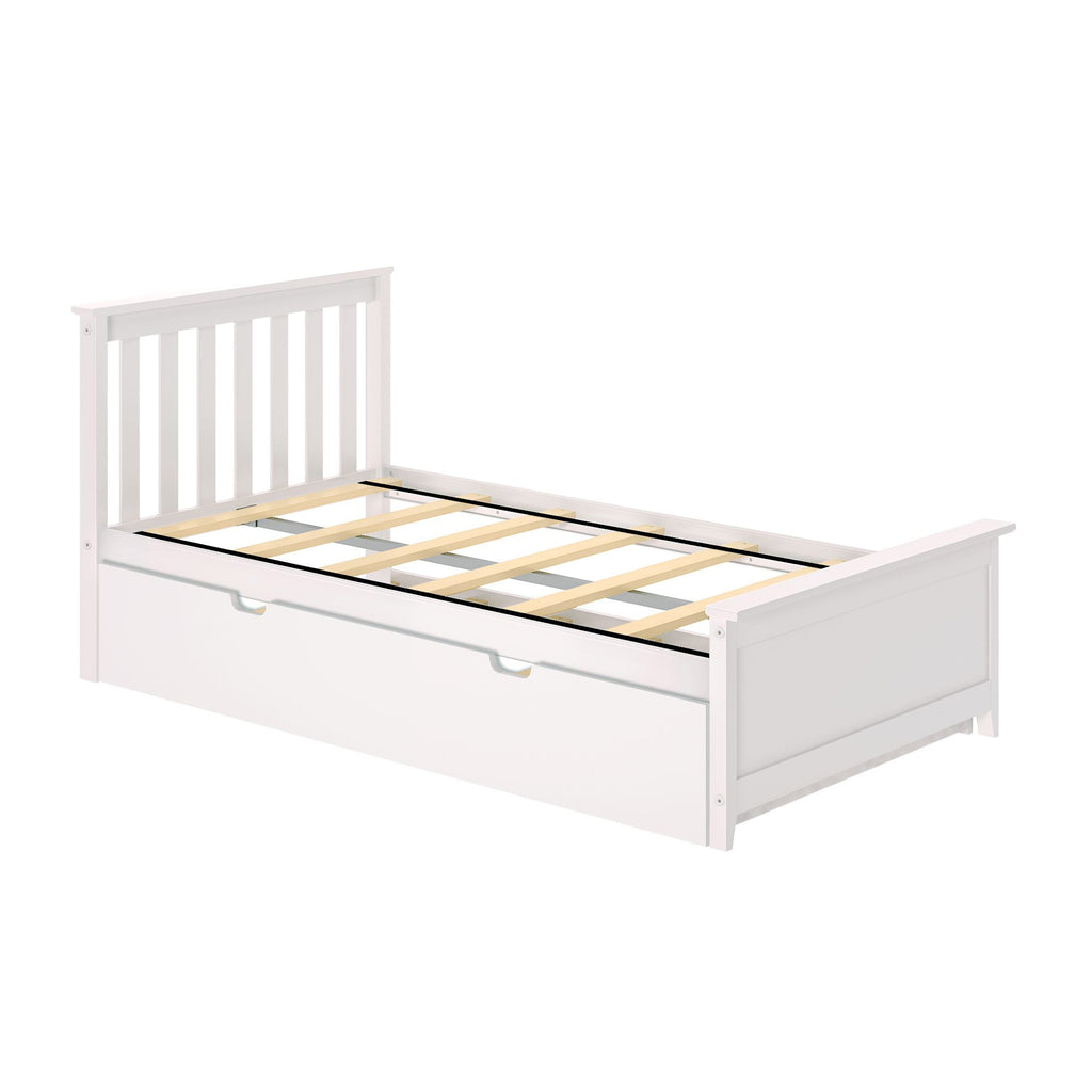 Max & Lily Kid's Twin Size Bed with Trundle Kids Beds