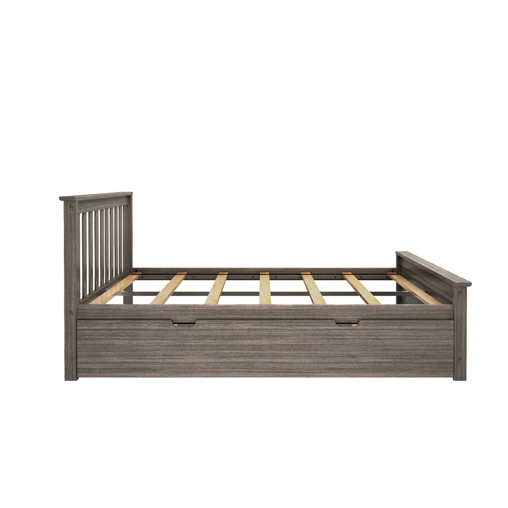Max & Lily Kid's Full Size Bed with Trundle Kids Beds