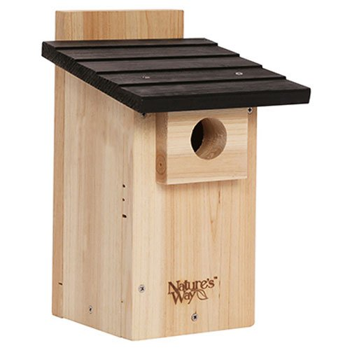 Nature's Way Bird Products CWH4 Cedar Bluebird Viewing House