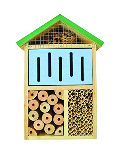 Nature's Way Bird Products CWH7 Better Gardens Beneficial Insect House, 4 Chamber