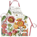 Michel Design Works Cotton Chef Apron, Blooms and Bees