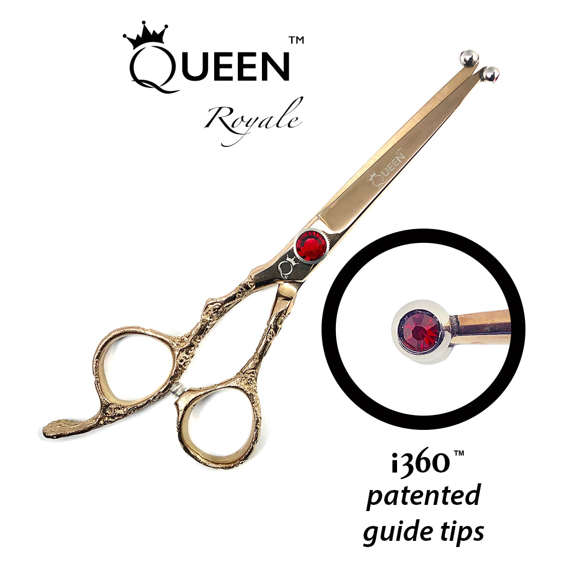 Queen Royale i360 Shears Left Hand