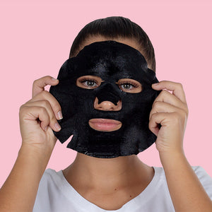 Detox Charcoal + 10-Superfood Formula Face Mask - 10 Pack