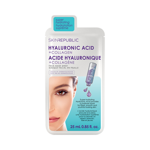 Hyaluronic Acid + Collagen Face Mask