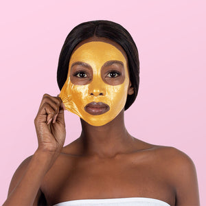 24K Gold Peel-Off Face Mask (3 Applications) - 10 Pack