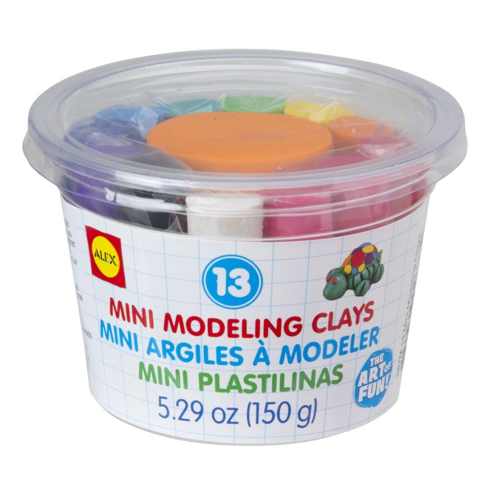 13 Mini Modeling Clays