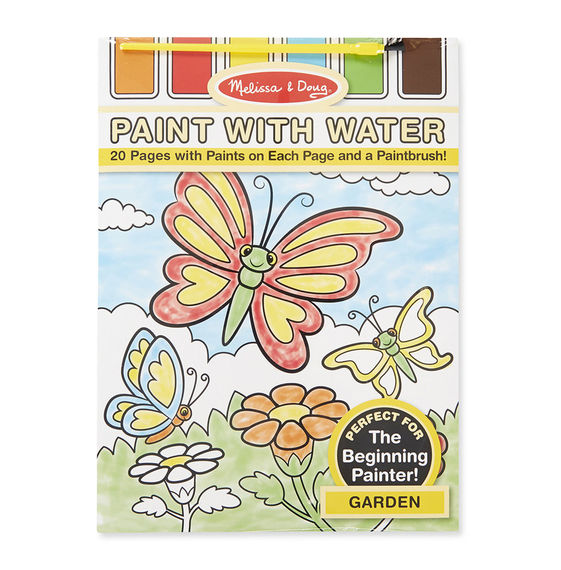 Paint with Water Garden