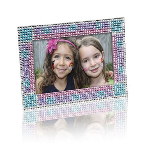 Press On Rhinestone Picture Frame