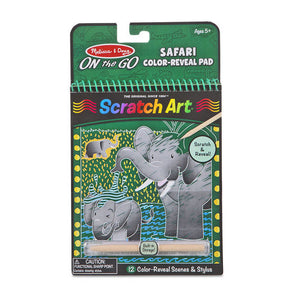 Scratch Art Color Reveal Safari