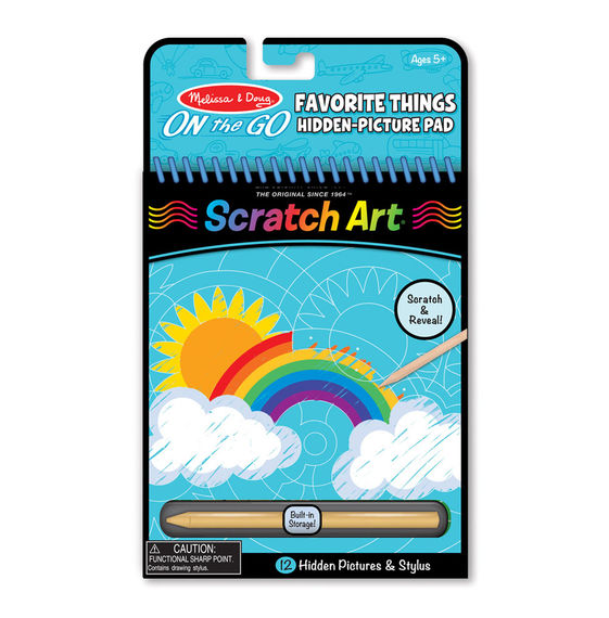Scratch Art Hidden Pictures Favorite Things
