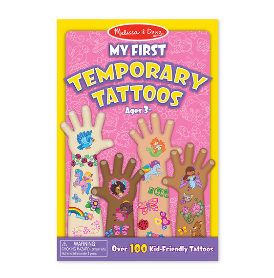 Temporary Tattoos Rainbows, Flowers, Fairies and More