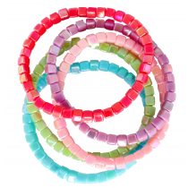 Tints Tones Rainbow 5pc Bracelets