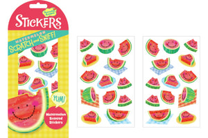 Watermelon Scratch and Sniff Stickers