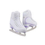 Jackson Ultima Softec Vista women's girls white figure skates