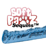 Soft Pawz skate guards in sequins