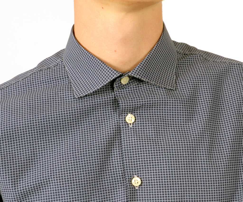 Bank Shirt - Printed dot