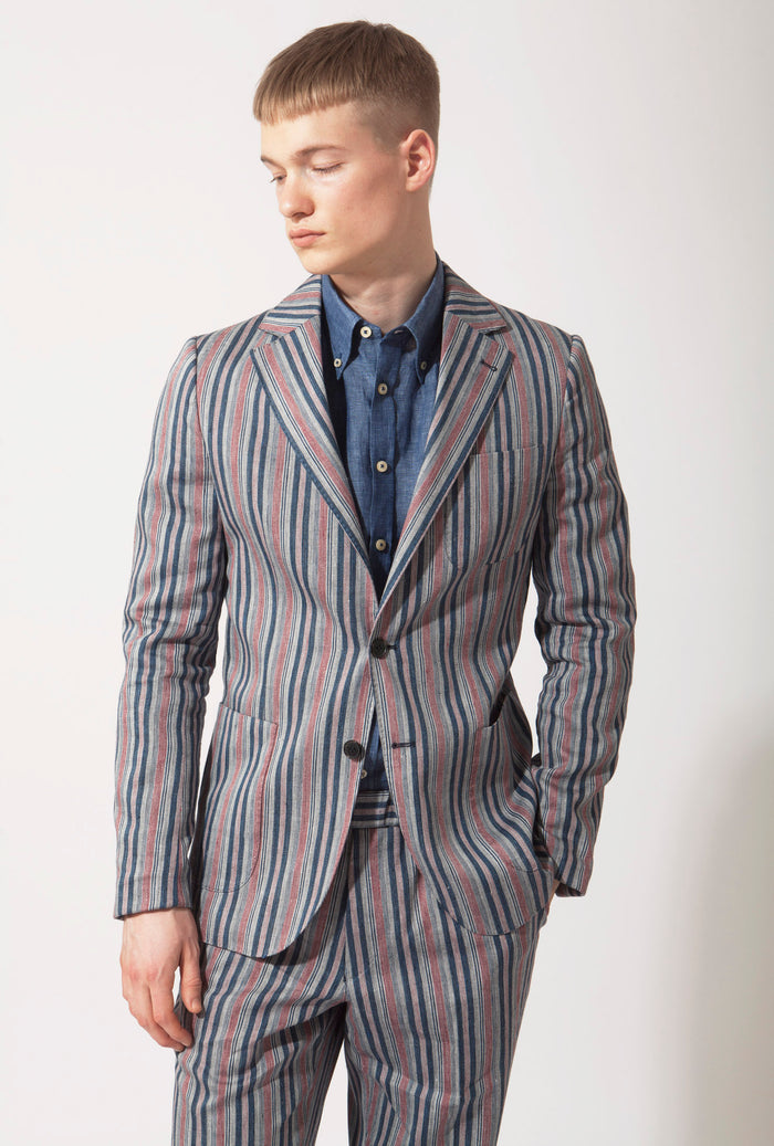 The Staghound Blazer Multistripe