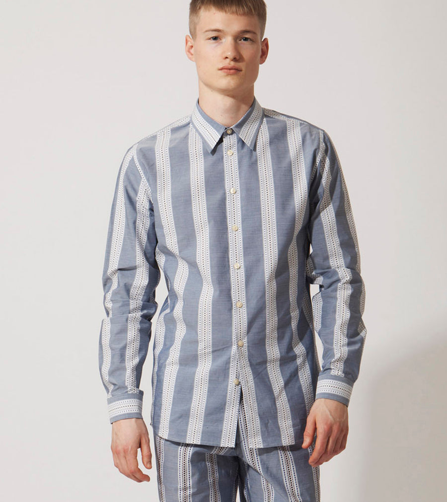 The Norm Shirt - Pyjama stripe