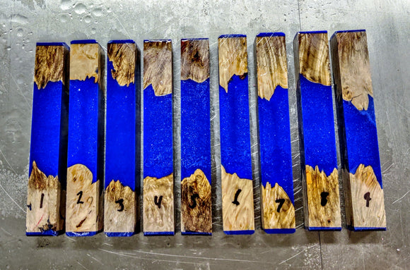 YInMn Maple Burl Hybrid Blanks